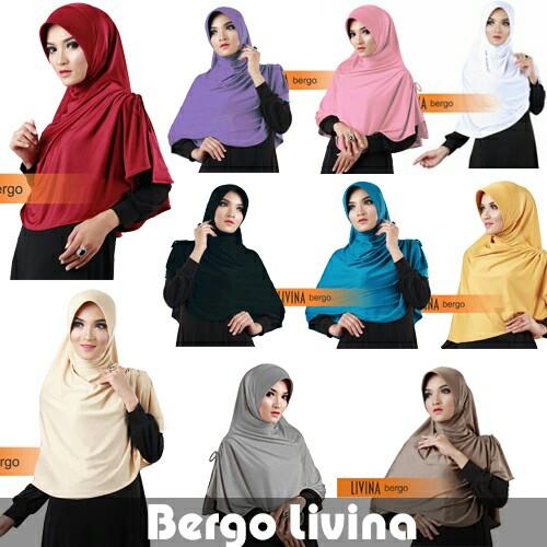 Hijab/Jilbab Bergo Livina Premium