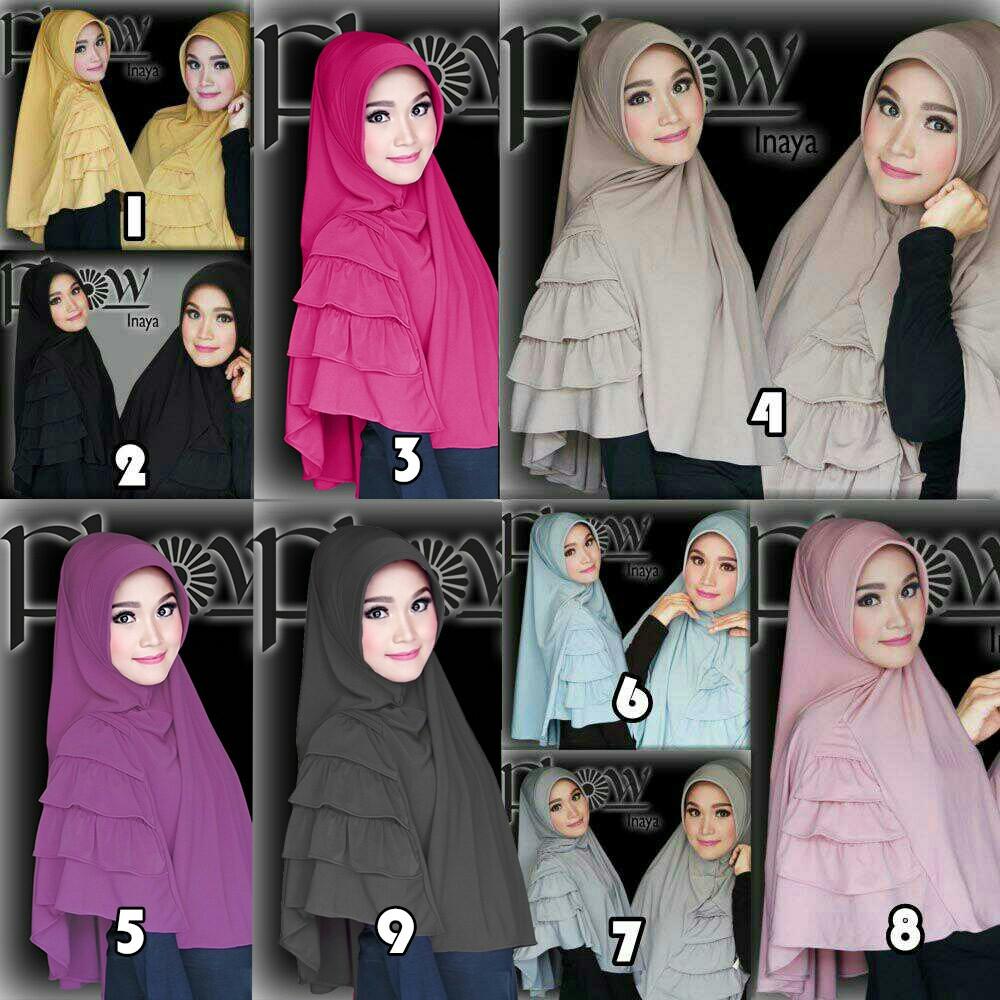 Hijab/Jilbab Khimar Inaya
