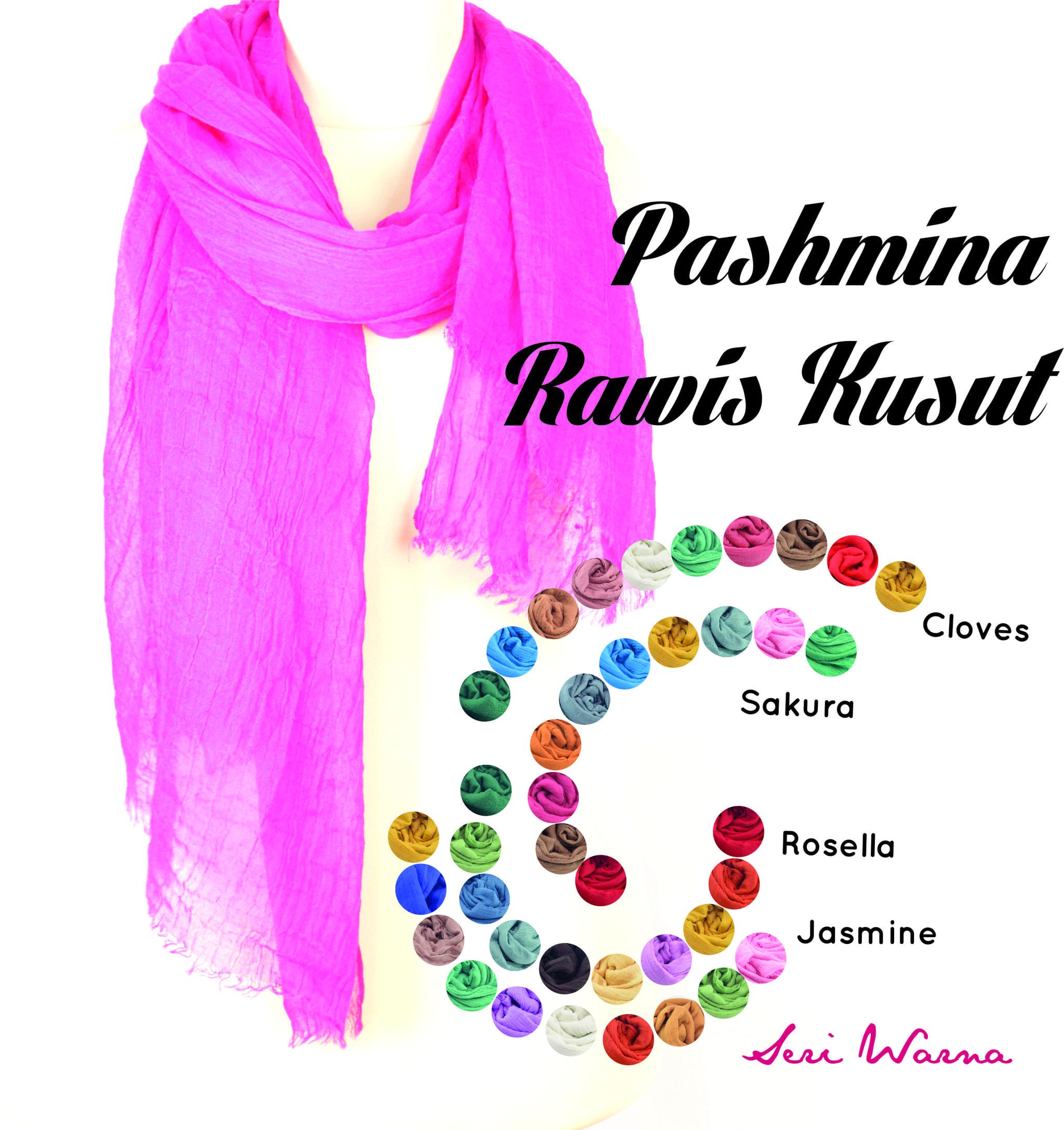JILBAB | HIJAB | KERUDUNG | PASHMINA | PASHMINA RAWIS KUSUT