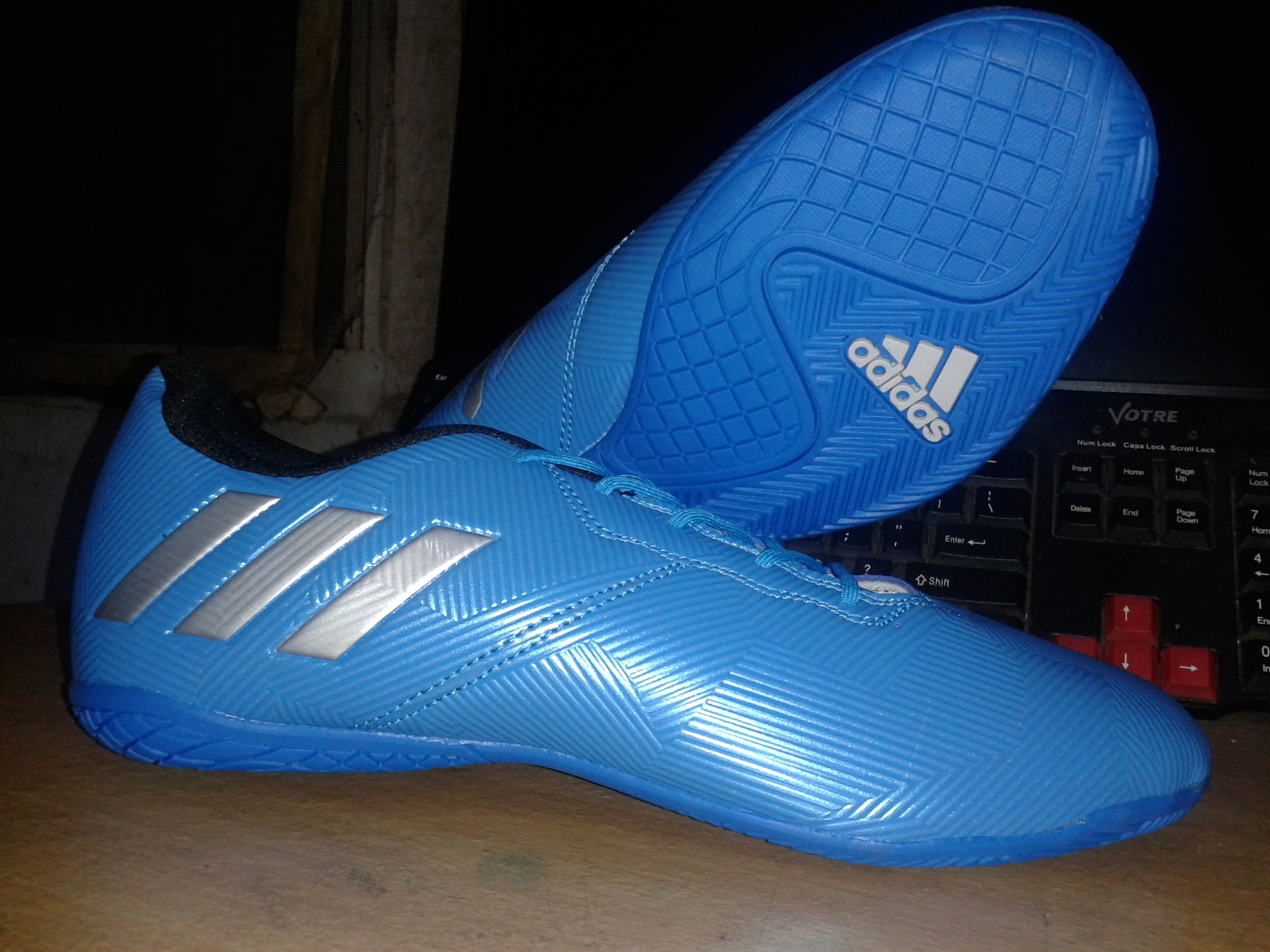Sepatu Futsal Adidas Messi Best Pictures Of Gold Komponen Original Jual Ace Blue Vs Ronaldo