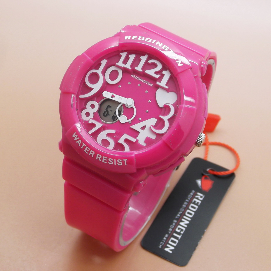 Jual Jam Tangan Wanita Fashion Murah Reddington Full Pink Watch 7c3c397692