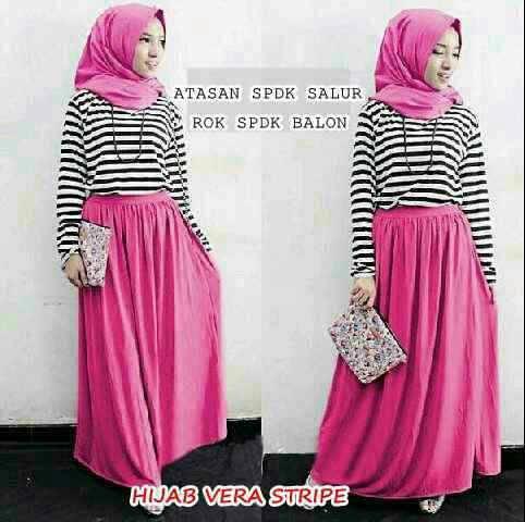 Hijab Vera Stripe