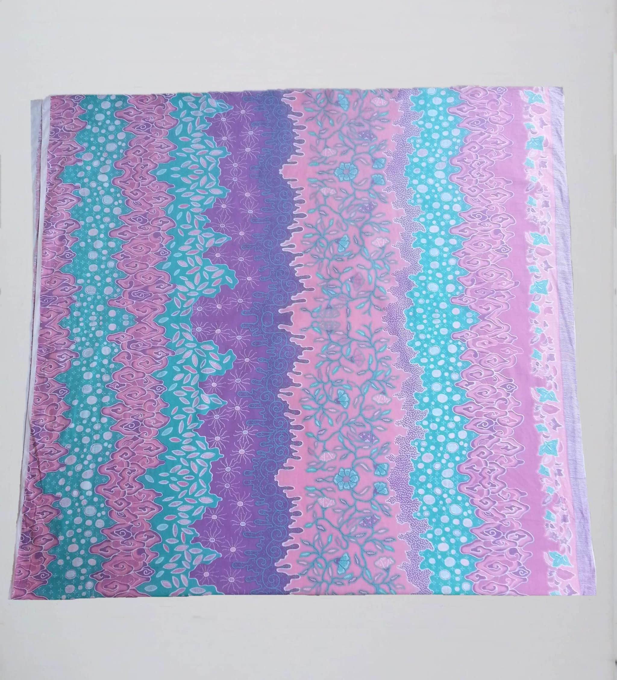 Ulasan Produk kain batik warna pastel  soft  BATIK PEKALONGAN