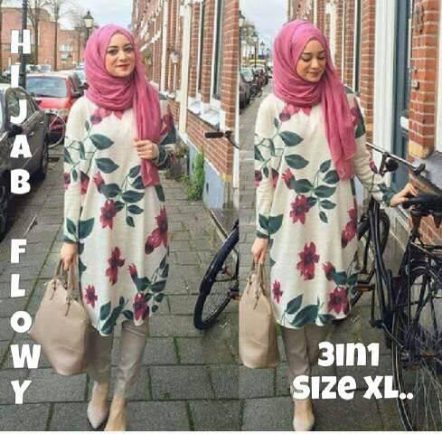 Hijab flowy