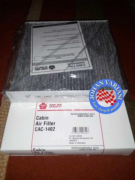 Filter AC Carbon Honda Jazz i-DSI (2004-2007) dan Honda City