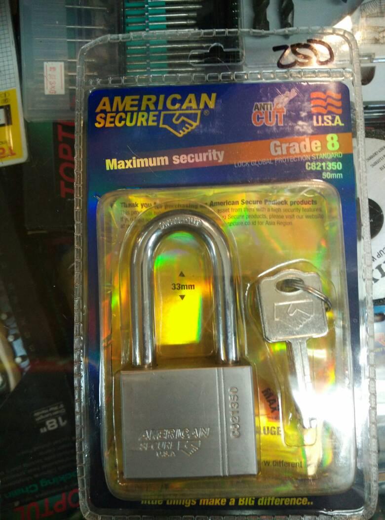 Kunci Gembok Tali Panjang Daftar Harga Terkini Termurah Dan Abus 50 Mm Jual Anti Maling Potong American Tool Sanstools Tokopedia