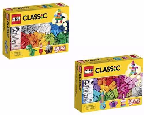 LEGO 10693 + 10694 - Brick and More - Creative Supplement Bundle