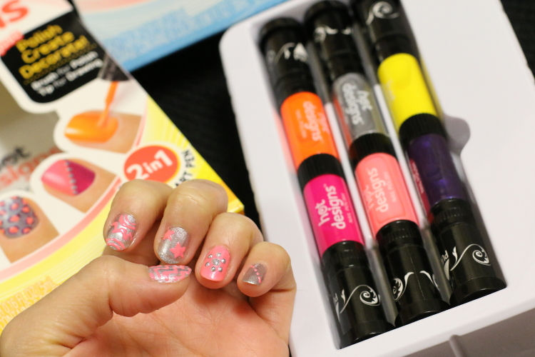 Hot Designs Nail Art Ideas easy nail art design photo 3 Izgo Nail Art Pennail Pen 6 Color Starter Kit Hot Design