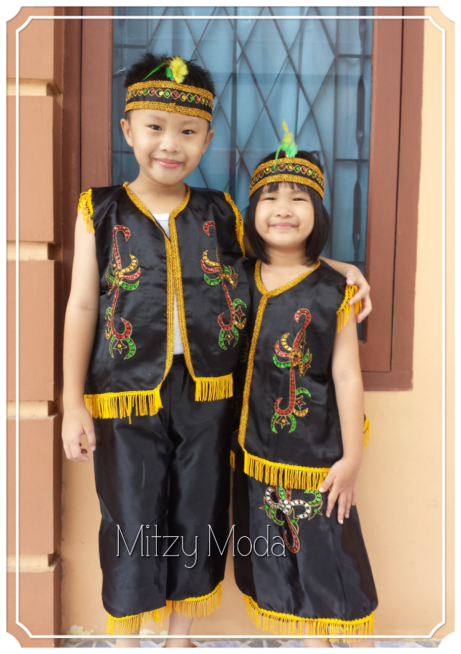 Gambar Suku Dayak Kalimantan Barat Gambar Baju di Rebanas