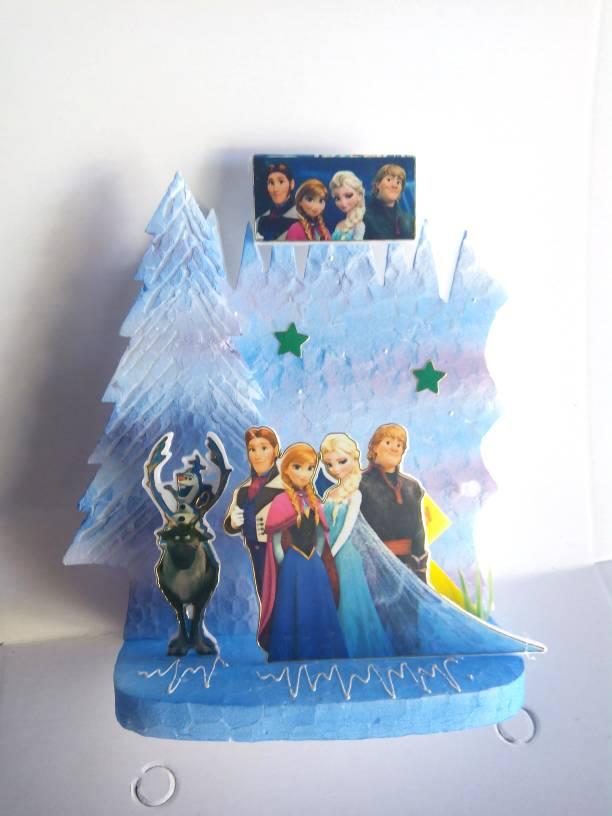 Jual Background hiasan kue ulang tahun frozen - HIKMAHPARTYSHOP ...