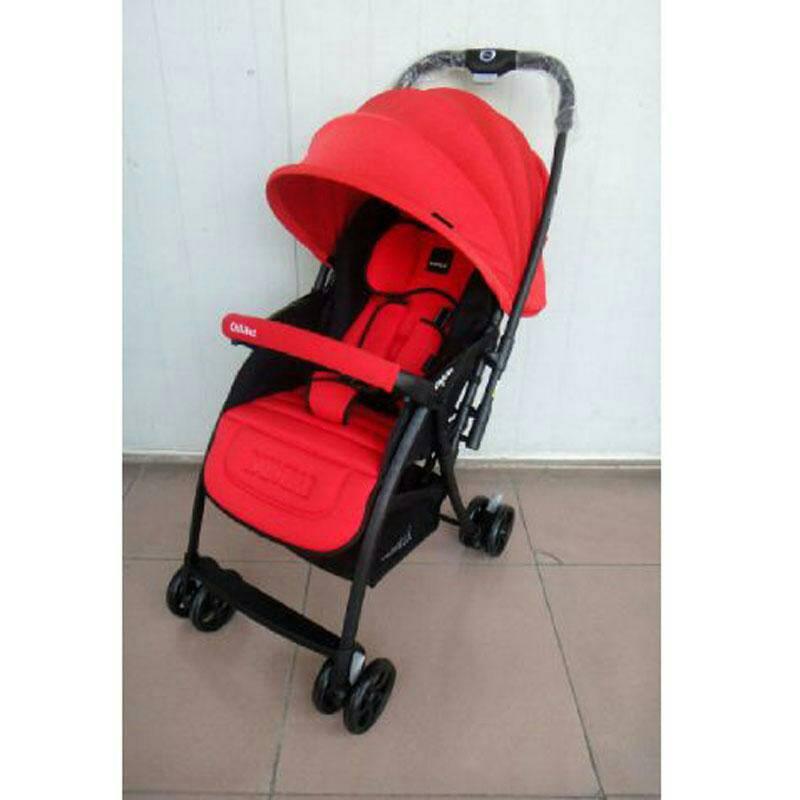 Stroller BabyElle Citilite 2s606, Red,blue,purple,beige