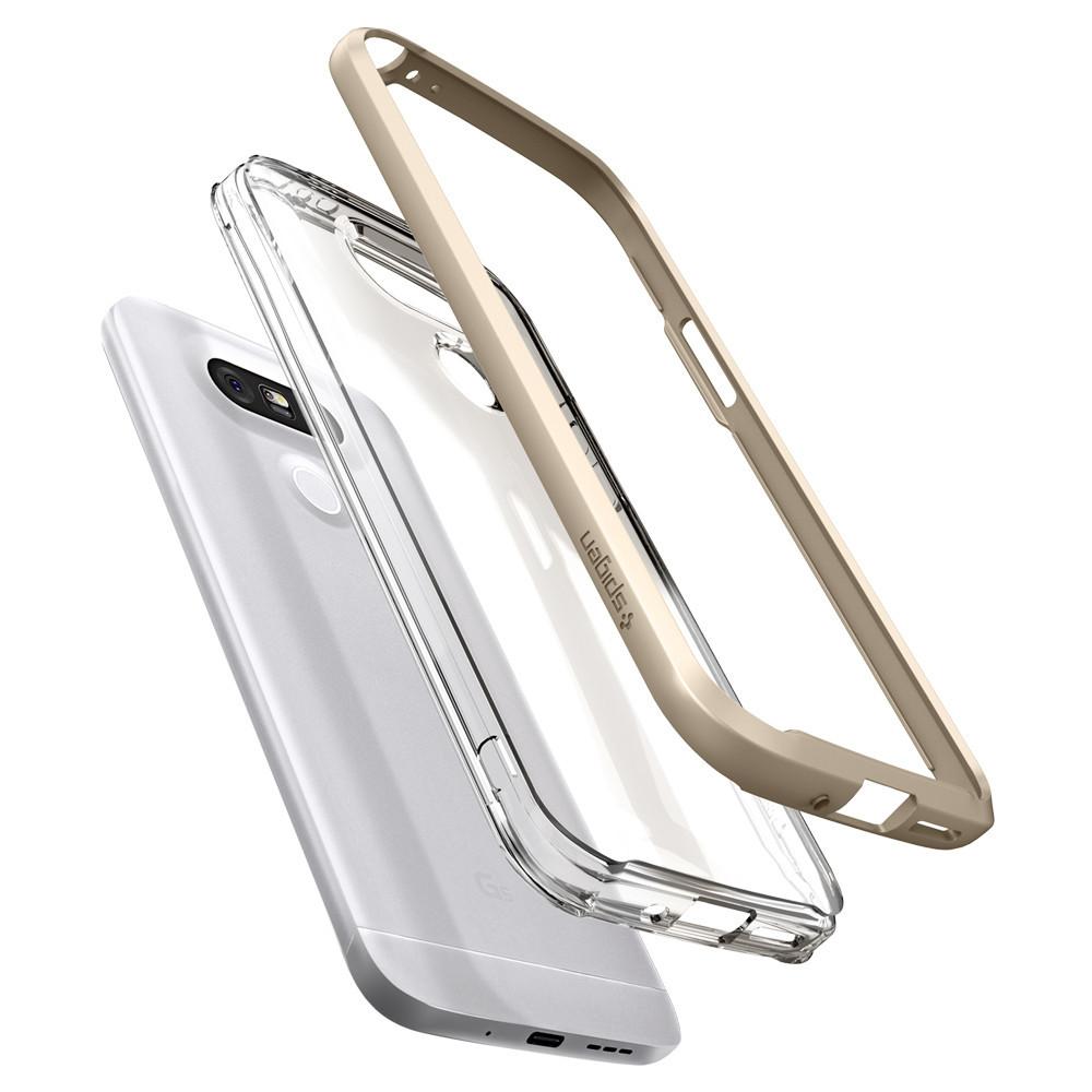 Spigen For LG G5 Case Neo Hybrid Crystal A18CS20136 - Champagne Gold