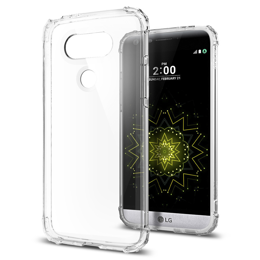 Spigen For LG G5 Case Crystal Shell A18CS20133 - Clear Crystal