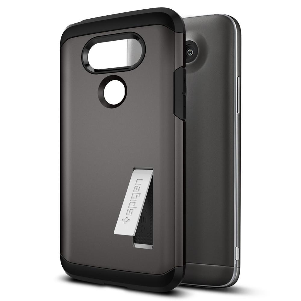Spigen For LG G5 Case Tough Armor A18CS20137 - Gunmetal