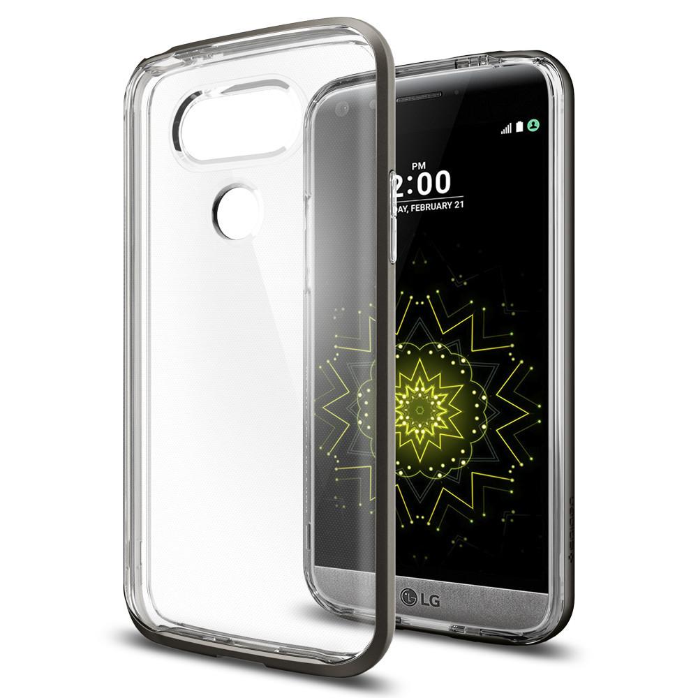 Spigen For LG G5 Case Neo Hybrid Crystal A18CS20135 - Gunmetal