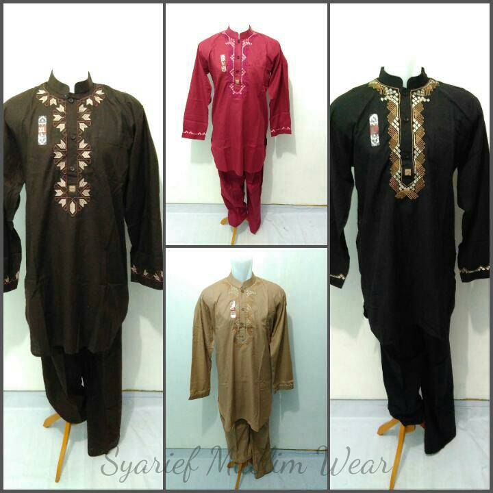 Jual Setelan Baju Koko Pakistan - Sollu (High Quality) - Syarief Muslim  Wear  7f7c7b4a42