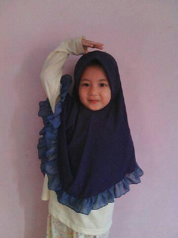 Bergo Anak /Jilbab anak / Kerudung anak/Hijab anak