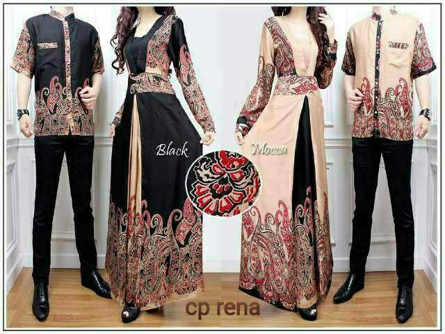 Jual Baju Batik Pasangan Suami  Istri CP Rena  nchgalleryshop