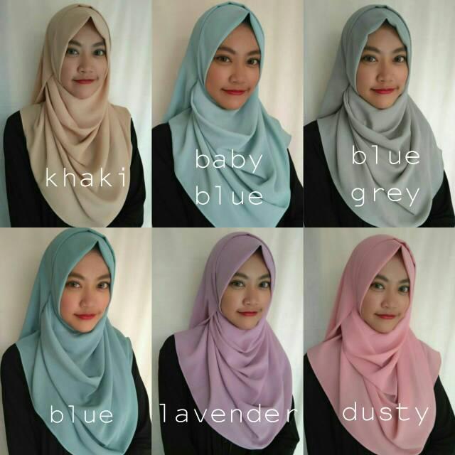 hijab instant / pashmina instant / malika instant season 2