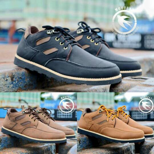 Jual Sepatu Moofeat Ring Low Leather Original Handmade Murah