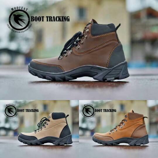 Jual Sepatu Boot Moofeat Tracking Original Handmade Murah