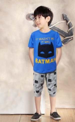 STKDL177 - Setelan Anak Laki It Was Me Batman