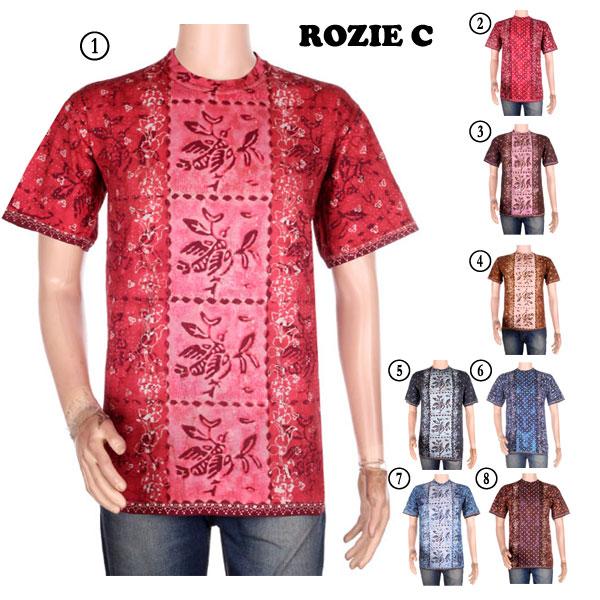 Jual SALE Kaos Batik Cap Rozie Super Murah   Jogja Batik