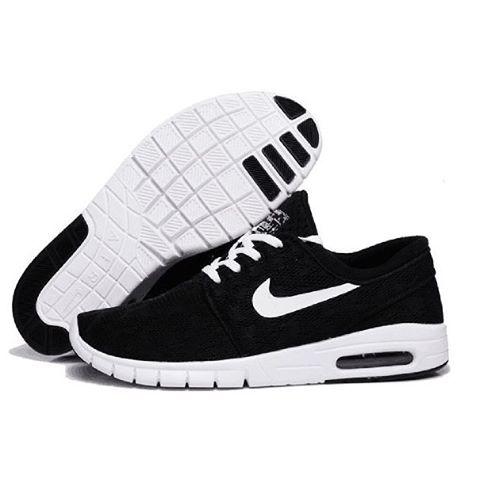 Nike Janoski Premium hitam putih