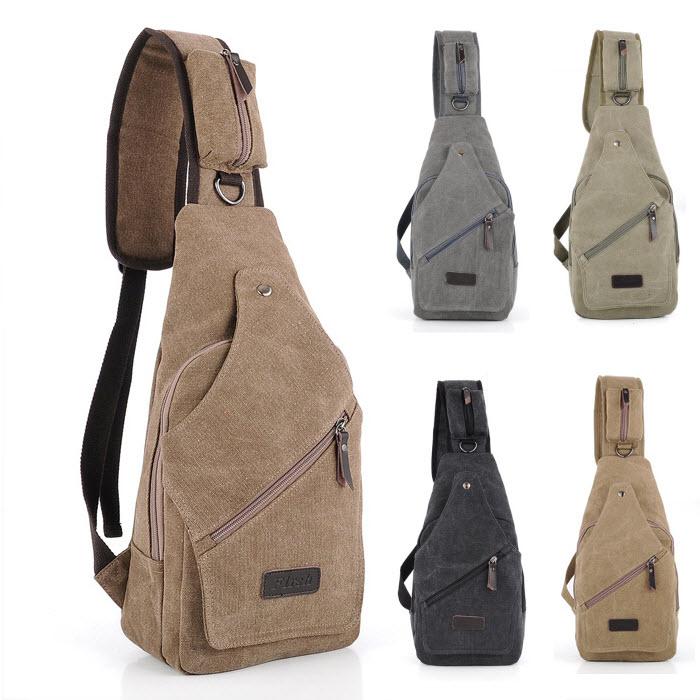 Jual Tas Selempang Pria Tas Kanvas Premium Import Sling Shoulder Bag Pria -  BOYS GIRLS Stuff  663e243d62