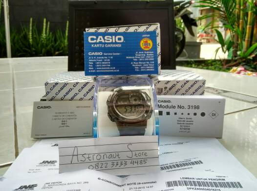 Jam Casio AE-1000W-1A (100{0cba6ab08df277df19ce8f4d7ebabb3be1366aa5cf62767fb3bb389c6668479e} ORIGINAL) Garansi 1Th Water Resist 100M