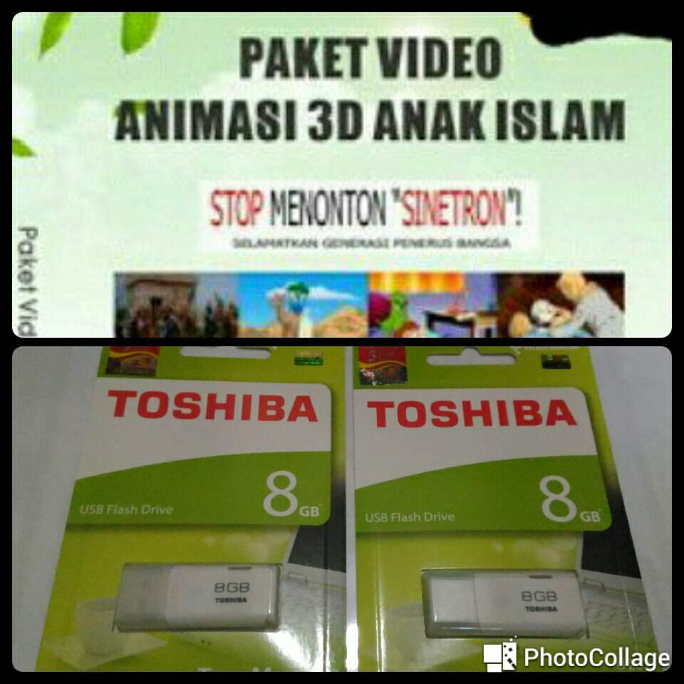 Jual Flashdisk Video Film Animasi Anak Muslim 8 GB - 200 ...