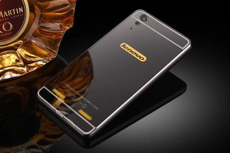 Case For Lenovo A6000 A6010 Bumper Chrome With Backcase Mirror Source Jual Lenovo .