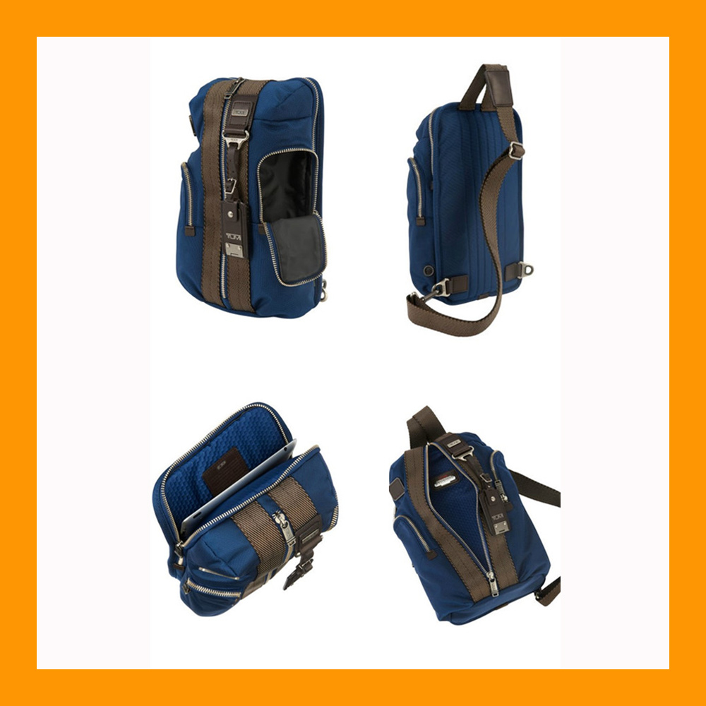 Sling bag tokopedia - Tumi Monterey Sling Bag Blue