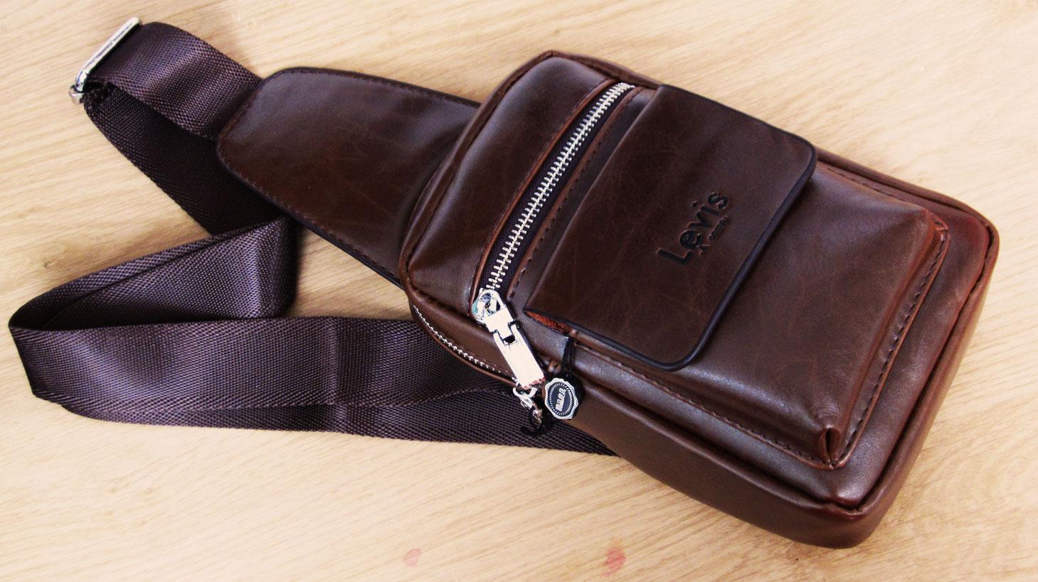 Jual tas selempang pria kulit asli levis bodypack import premium ... 0e1943a107