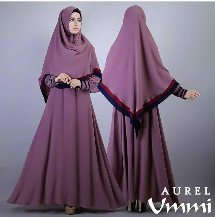 Jual Aurel Ummi Syar I Gamis Syar I Busui Busana Muslim Terbaru