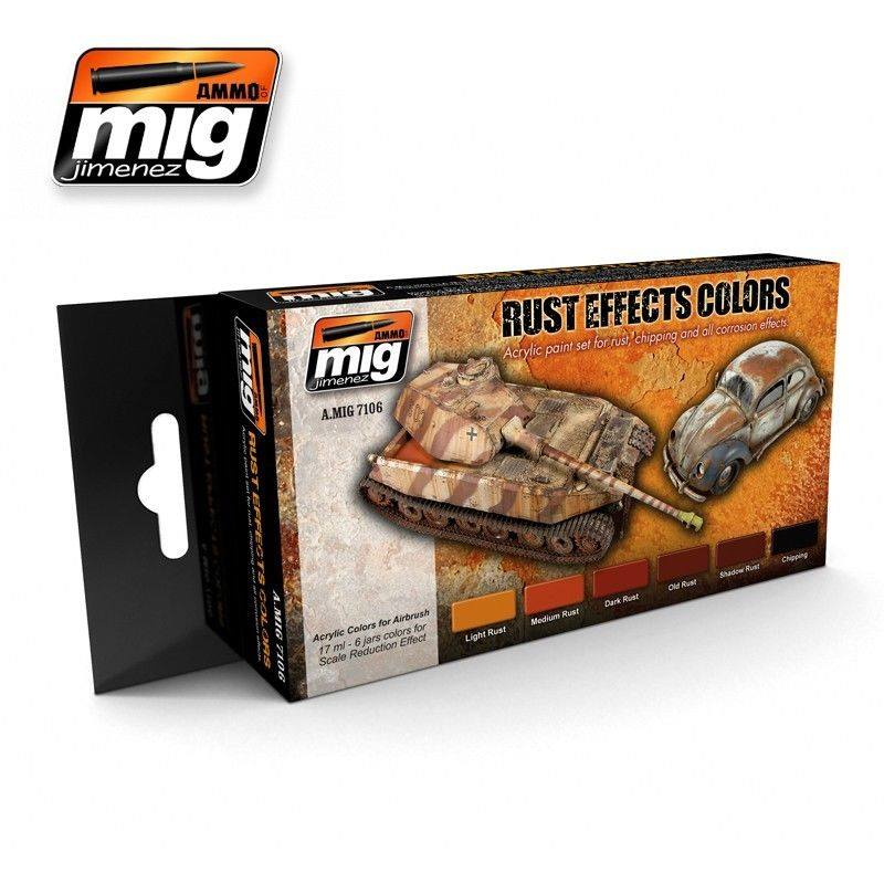 MIG Rust Effects Colors Set