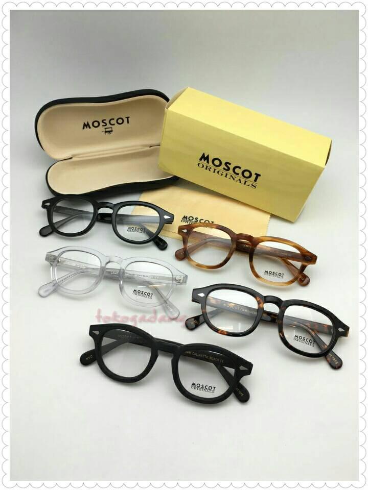 ... Frame Kacamata Moscot Lemtosh Black Glossy - Blanja.com 1040c1a454