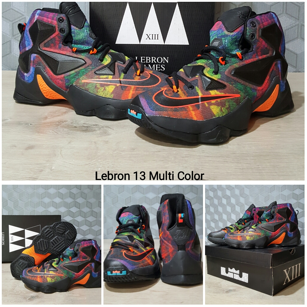 a13719e90ce7 ... low price nike zoom lebron 13 sepatu basket lebron 13 multi color 3ecae  7786a