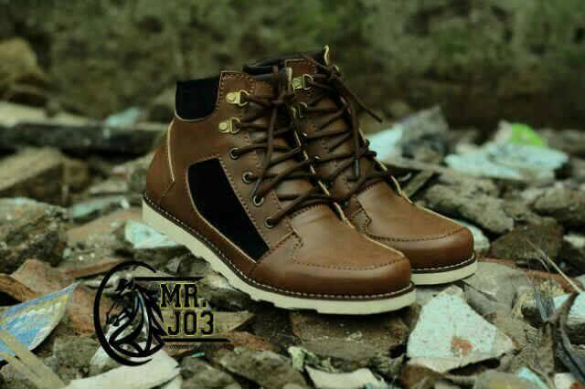 Jual Sepatu Boots Mr.Joe Murah