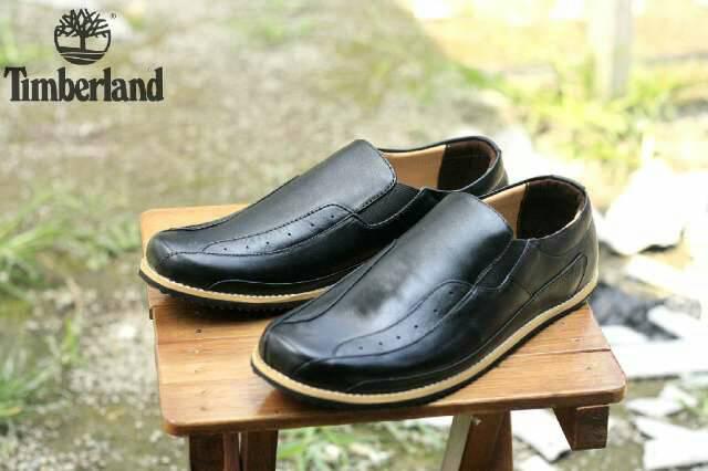 Jual Sepatu Timberland Slip On Kulit Murah