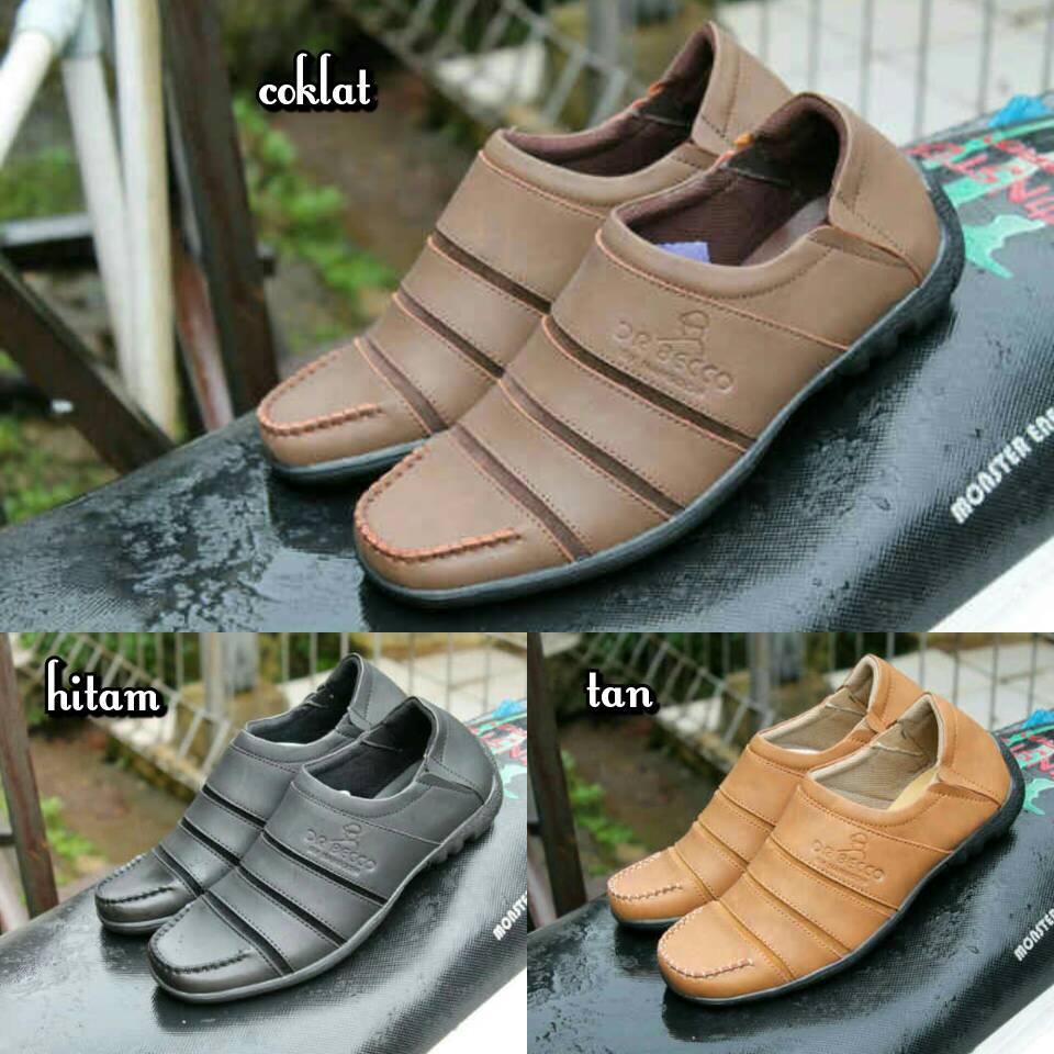 Jual Sepatu Kerja Formal Dr. Becco Slop / Slip On Pria Murah