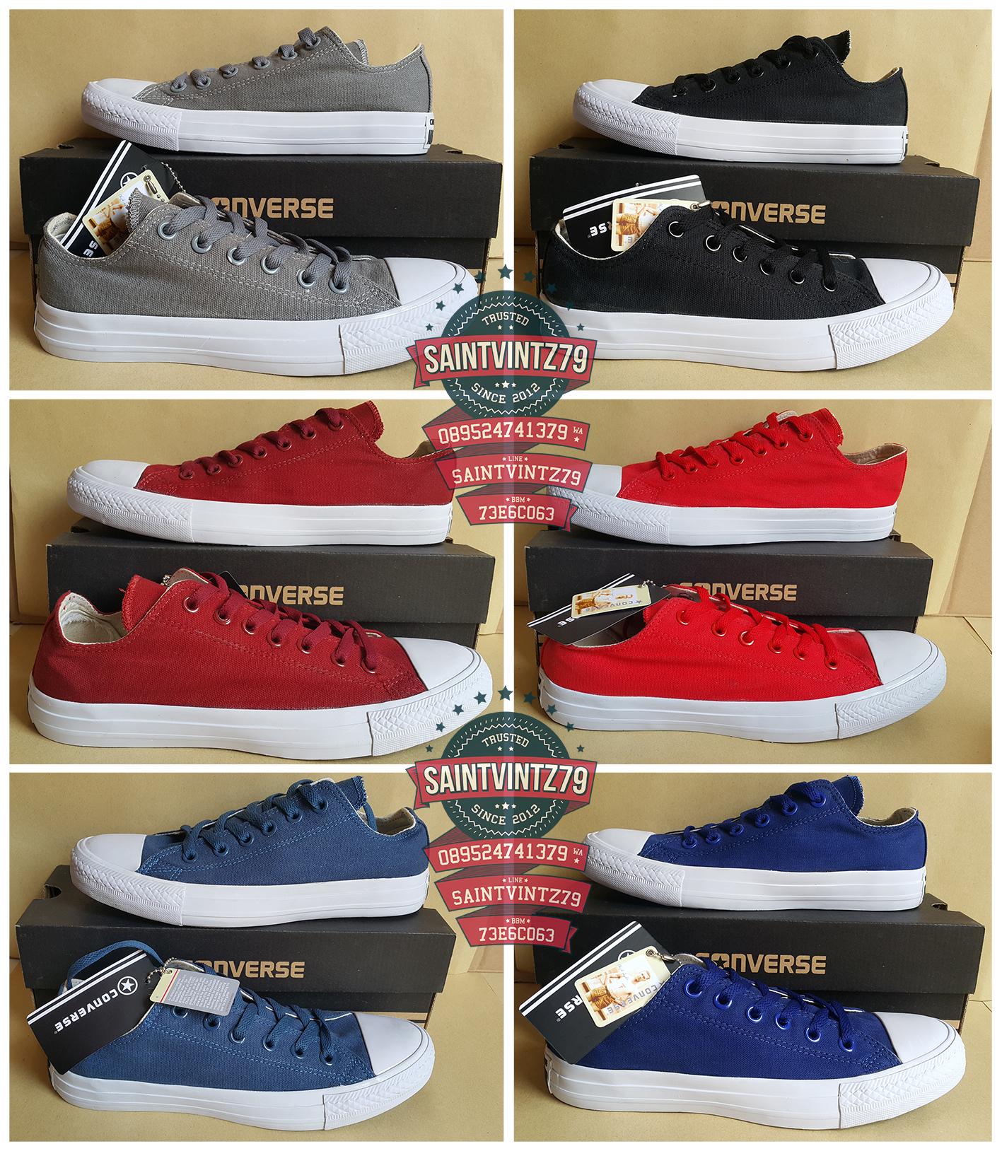 Jual Sepatu Converse All Stars Chuck Taylor II Grade Ori asli Pabrik ... fa23bad1fb