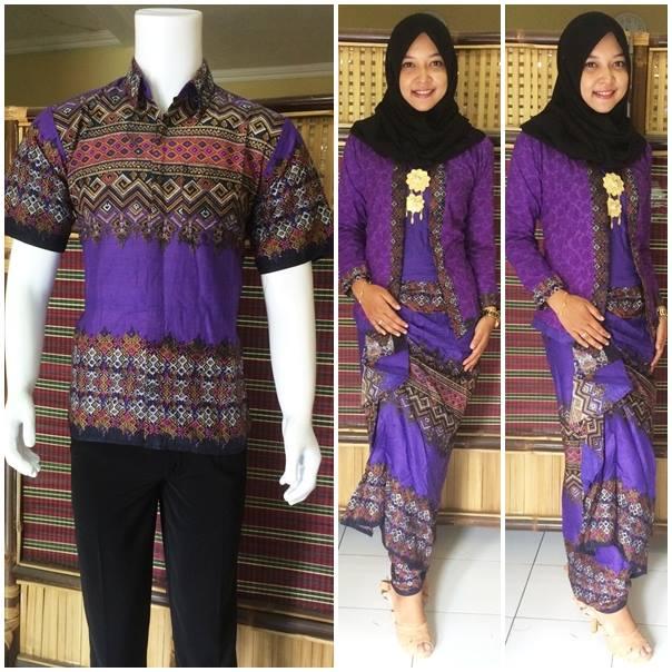 Jual Baju Couple Batik Sarimbit Kebaya Rok Blus Pasangan