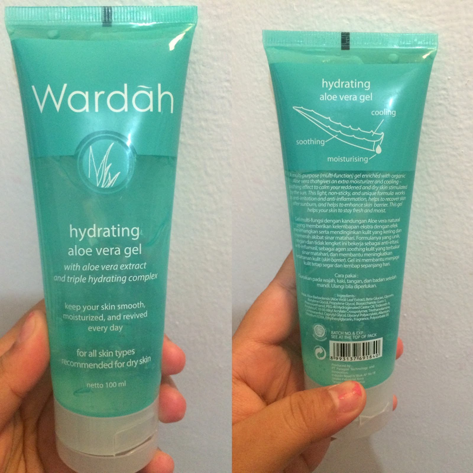 Jual Wardah Hydrating Aloe Vera Gel