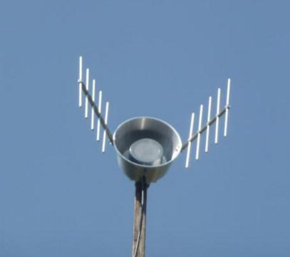 Antena Penguat Sinyal Panci reflector 3G 4G 1800 - 2300 Mhz Kabel 15M Pigtail single