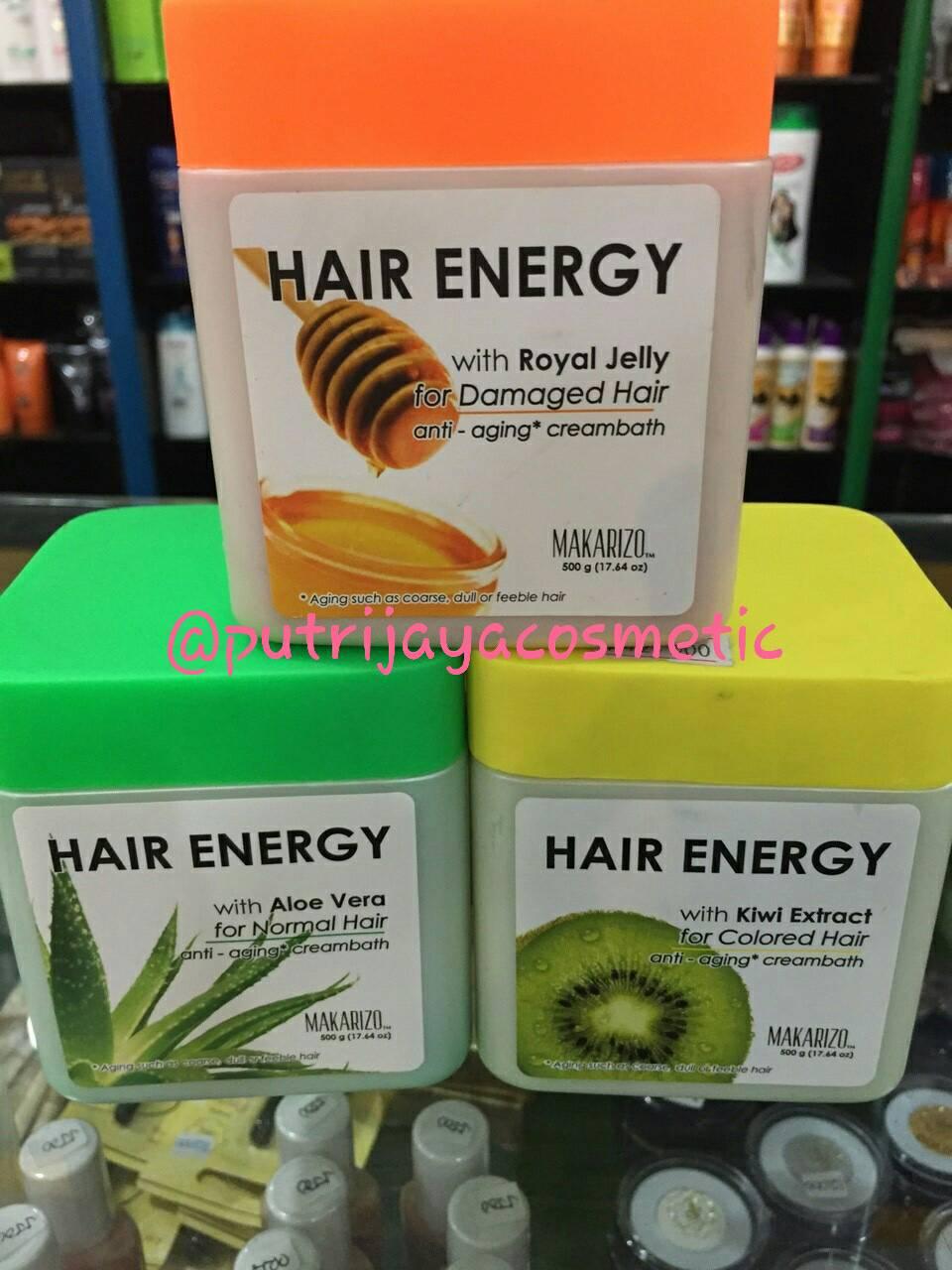 Makarizo Creambath Hair Energy Kiwi Extract Anti Aging 500gr Aloe Ampamp Melon Sachet 30 Gr Color 60 Cek Harga Source 6 Sachets Jual