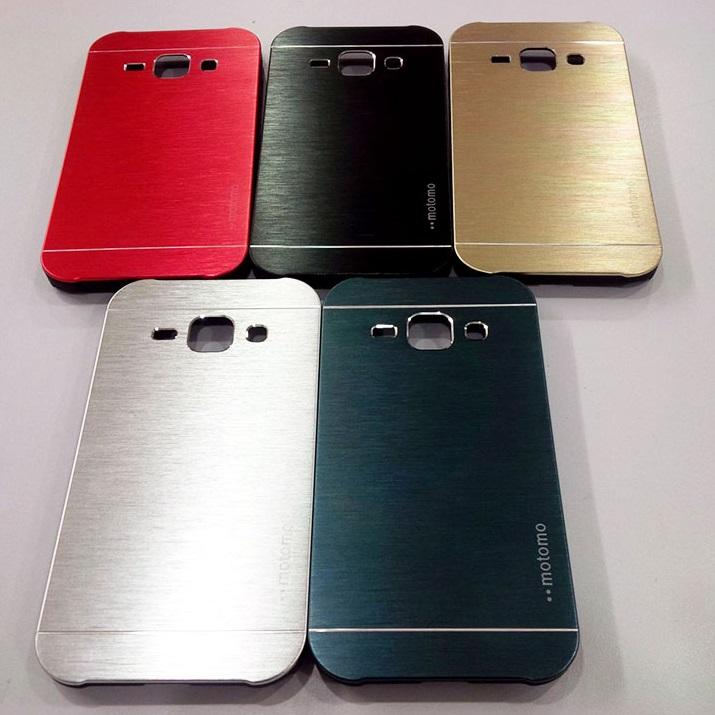 Jual Samsung Galaxy V - Plus Motomo Metal Skin Hard Cover Case Kesing Keren - sarungcasinghp