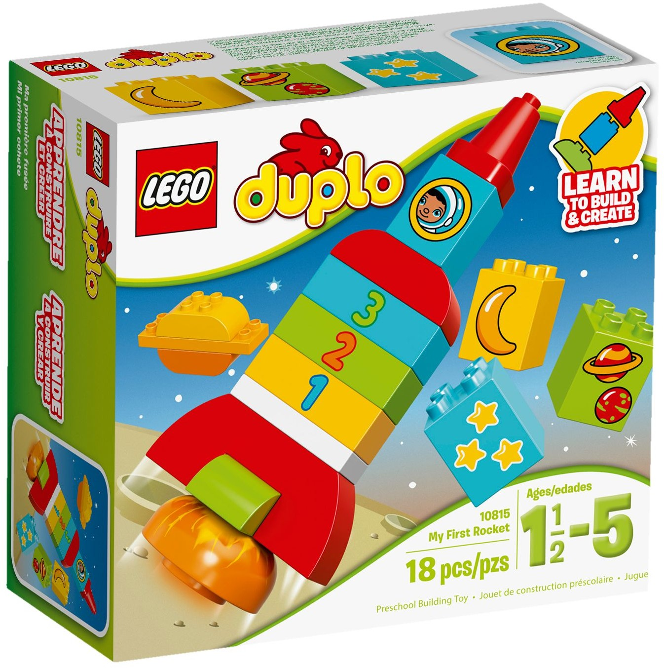 LEGO 10815 - Duplo - My First Rocket