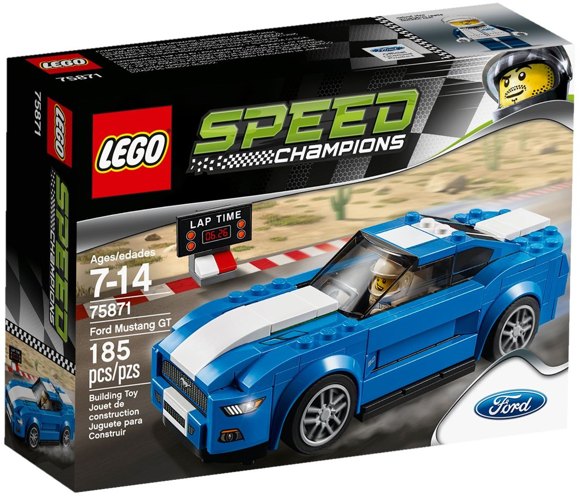 LEGO 75871 - Speed Champions - Ford Mustang GT