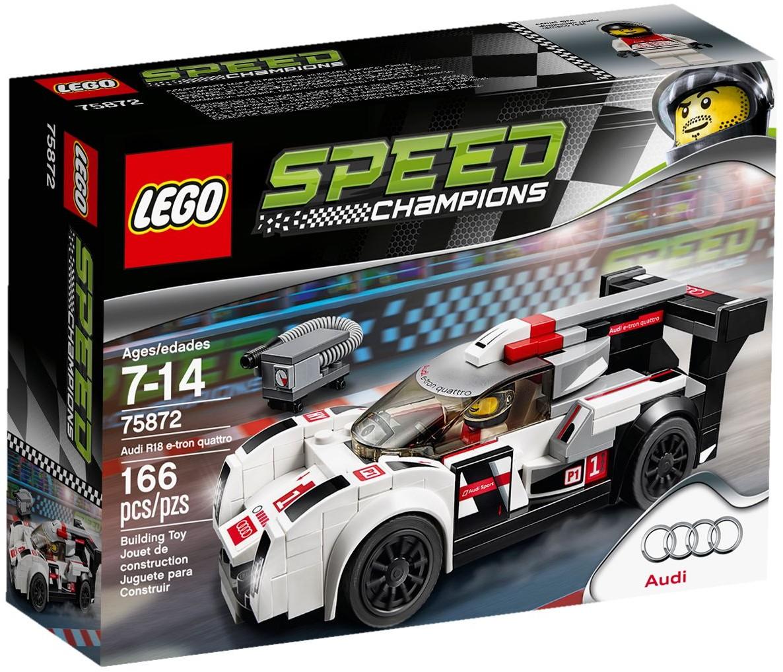 LEGO 75872 - Speed Champions - Audi R18 e-tron quattro